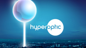 £95 Gift Card with 1Gb 12 Month Package Orders at Hyperoptic