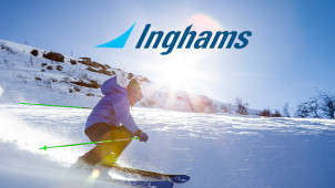 £80 Gift Card with Upfront Bookings Over £2000 at Inghams