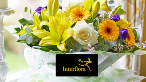 Order Before 3pm for Same Day Delivery at Interflora