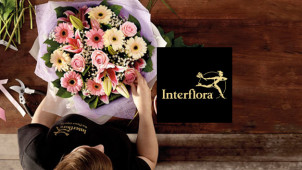 €5 Off Orders Over €45 at Interflora