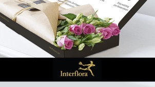 New! £5 Off Letterbox Flowers Plus Free Next Day Delivery at Interflora