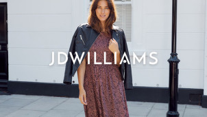 20% Off Fashion, Footwear, Lingerie and Home Orders Over £40 Plus Free Delivery at JD Williams