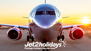 £15 Gift Card with Upfront Bookings at Jet2holidays