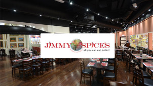 25% Off Food Bill at Jimmy Spices
