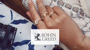 25% Off John Greed Branded Jewellery Orders at John Greed Jewellery