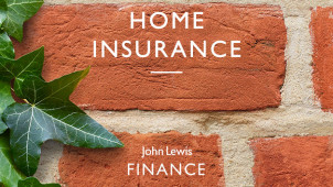20% Off Online Home Insurance Policies at John Lewis Finance - New Customers Only