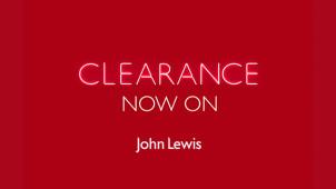Huge Savings in the John Lewis Clearance at John Lewis