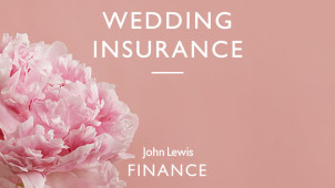 Cancellation or Rearrangement Wedding Cover up to £100,000 at John Lewis Wedding Insurance
