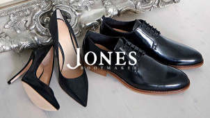 15% Off Online Orders Over £80 Plus Free Delivery and Returns at Jones Bootmaker