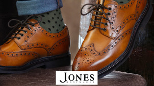 £5 Gift Card with Orders Over £100 at Jones Bootmaker