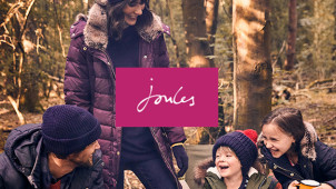 Up to 50% Off in the Biggest Black Friday Event at Joules