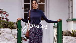 20% Off First Orders & Free Delivery at Joules