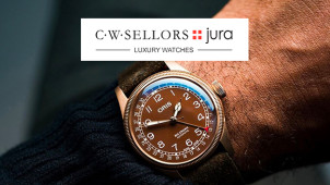 15% Off Orders at Jura Watches