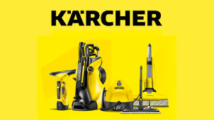 £15 Gift Cards with Orders Over £150 at Karcher