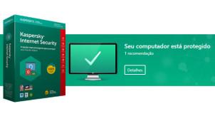 Kaspersky Internet Security com 55% OFF