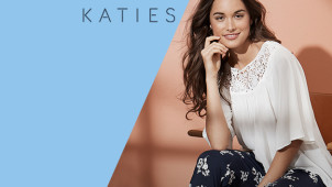 $10 Off First Orders with Newsletter Sign-ups at Katies