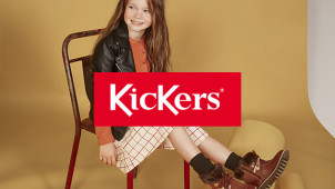 Extra 10% Off in the 50% Off Sale at Kickers