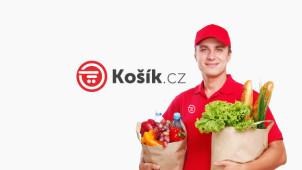 Slevový kupon -100 Kč na váš nákup potravin na Kosik.cz