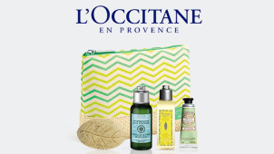 Free Dazzling Collection (worth €26) with Orders Over €60 at L'Occitane