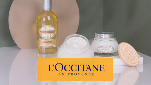 Free Dazzling Collection Worth €26 with Orders Over €50 at L'Occitane