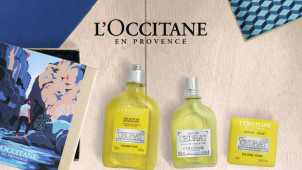 Free Luxury Travel Collection on Orders Over €120 at L'Occitane