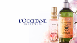 Free Pretty Floral Collection with Orders Over €55 at L'Occitane