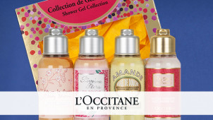 Free Romantic Floral Collection with Orders Over £55 at L'Occitane