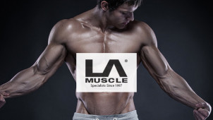 20% Off Orders Over £100 at LA Muscle