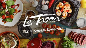 3 Courses and a Drink for £15.95 at La Tasca