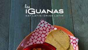 2 for 1 on Mains at Las Iguanas
