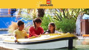 Buy 1 Get 1 Free on Full Price Walk Up Tickets at LEGOLAND Windsor