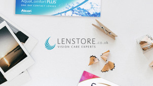 15% Off First Contact Lenses Orders & Get £60 Free Eye Care Voucher at Lenstore