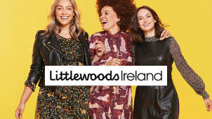 Enjoy 25% Off First Credit Orders Over €50 on Fashion & Footwear at Littlewoods Ireland