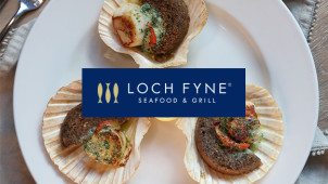 25% Off Mains at Loch Fyne Seafood and Grill