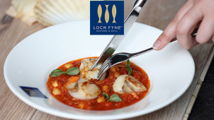 25% Off A La Carte Mains at Loch Fyne Seafood and Grill