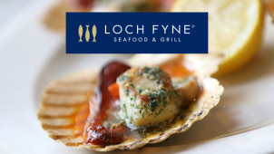 25% Off Food at Loch Fyne Seafood and Grill