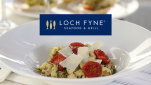 Dine with Wine for £14.95 at Loch Fyne Seafood and Grill