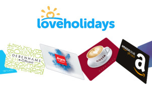£80 Reward with Bookings Over £1,500 at loveholidays.com