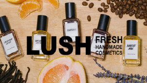 New Scent Solid Perfumes Available from £9 at Lush