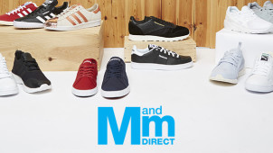 £5 Gift Card with Orders Over £50 at M and M Direct