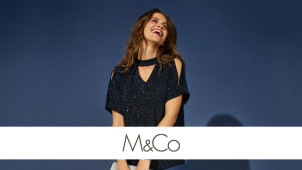 50% Off Selected Orders in the Black Friday Event at M&Co
