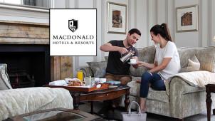 2 Night Romantic Breaks from £160 per Couple at Macdonald Hotels