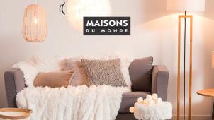 Gratis Lieferung für Deko-Artkiel ab 100€ bei Maisons du Monde
