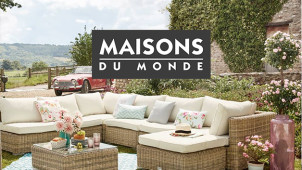 Free Delivery on Decor and Home Accessory Orders Over £30 at Maisons Du Monde