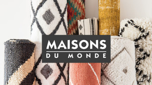 Free Delivery on Decor & Home Accessory Orders Over £99 at Maisons du Monde