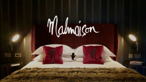 A Room, A Bottle of Champagne, 3 Course Meal and Breakfast from £165 at Malmaison