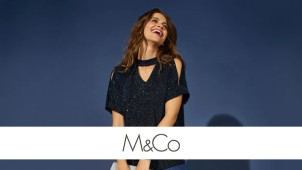 25% Off Full Priced Orders Plus Free Delivery at M&Co