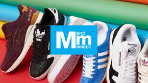 Bis zu 75% Rabatt auf Schuhe bei MandMDirect