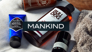 Save 22% on Orders at Mankind