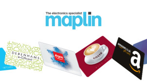 £10 Gift Card with Orders Over £75 at Maplin